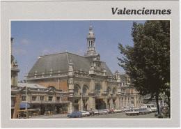 Valenciennes: RENAULT 4 & 5, OPEL ASCONA -C, PEUGEOT J9, CITROËN 2CV - Buffet De La Gare - (Nord, F) - PKW