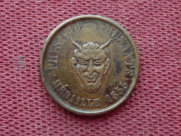 FRANCE Jeton Voisin Mécanicien 1855 - Monetari / Di Necessità