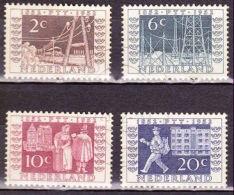 1952 I.T.E.P. Serie  NVPH 592 / 595 Mooi Gebruikt - Periode 1949-1980 (Juliana)
