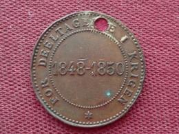 DANEMARK Médaille Frédéric VII 1848-1850 - Royaux / De Noblesse