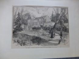 Les Jardies, à Ville D'Avray, Maison De Balzac Et Gambetta,   BALZAC,   (cf. Stalag II B Hammerstein) ; Ref 488 C 06 - Stiche & Gravuren
