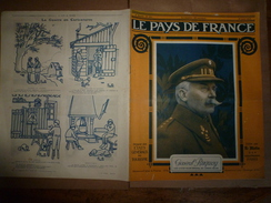 1917 Le Pays De France :Coucy; US Army;Plattsburg;Chauny Et Tergnier;Ham;Bapaume Villers-Carbonnel;Monastir;Paris-Agri - Magazines & Papers