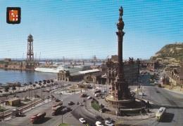 CPM  ESPAGNE  /  BARCELONA  /  Monument A Christophe Colomb - Barcelona
