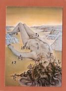 ILLUSTRATEURS    MADAME GULLIVER   PAR  JEAN LARRIGUE - Peintures & Tableaux