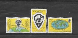 Nicaragua 1961 Y&T Nr° 446/448 ( **) - Nicaragua