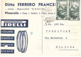 DITTA FERRERO FRANCESCO BICICLETTE BIANCHI PIRELLI PINEROLO TORINO - Italia