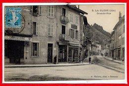 01 - La CLUSE -- Grande Rue - Francia