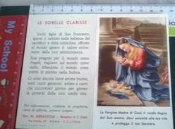 CALENDARIETTO 1957 MONASTERO S.TA CHIARA ROMA - Calendari