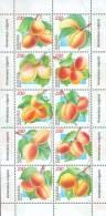 Armenia 2007, Flora, Apricots, Sheetlet - Armenia