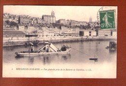 1 Cpa Boulogne Sur Mer Vue Generale - Boulogne Sur Mer