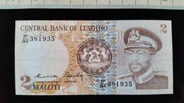Billet De 2 Maloti Lesotho Neuf - Lesotho