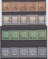 Oldenburg - Wohlfahrtsmarken - 4 Verschiedene Einzelmarken (je 5 Stück) - Zone Soviétique
