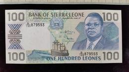 Billet De 100 Leones, Sierra Léone  Neuf - Sierra Leone