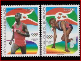 Burundi 1074/75**/MNH   Jeux Olympique D'Atlanta