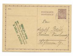 Bohemia And Moravia Postcard - Böhmen Und Mähren