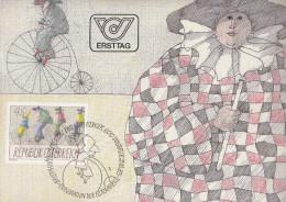 Austria MC 1985 Paul Flora - Karnevalsfiguren Bb160929 - Art