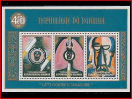 Burundi BL 0125/25A**  Tabagisme MNH