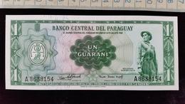 Billet De 1 Guarani Paraguay - Paraguay