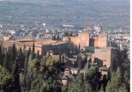 1 AK Spanien * Blick Auf Die Festung Alhambra In Granada - Seit 1984 UNESCO Weltkulturerbe - Granada