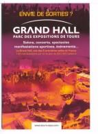Carte Publicitaire Parc Des Expositions De Tours Grand Hall - Advertising