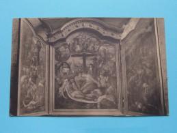Drieluik In Sint-Luciakoor / Zout-Leeuw / Léau (  Ch. Peeters ) Anno 19?? ( Zie Foto Voor Details ) - Zoutleeuw