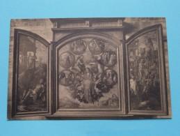Drieluik In Sint-Erasmuskoor / Zout-Leeuw / Léau (  Ch. Peeters ) Anno 19?? ( Zie Foto Voor Details ) - Zoutleeuw