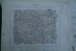 62 - SAINT OMER- CARTE GEOGRAPHIQUE 1890-WIEQUINGHEM-COURSET-THEROUANNE-VERCHIN-BOMY-WISMES-BLEQUIN-COYECQUES-DELETTES- - Cartes Géographiques