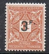COTE-D'IVOIRE TAXE N°18 N* - Nuovi