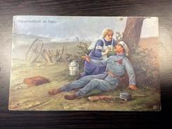 MILITARIA   MILITARY    WWI.  RED CROSS   ROTE KREUZ 1915. - Rotes Kreuz