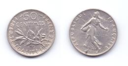 France 50 Centimes 1915 - Francia
