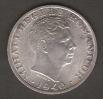 ROMANIA 25000 LEI 1946 AG SILVER - Romania