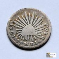 México - 1 Real - Guanajuato - 1829 - Mexico