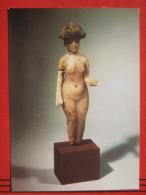 Berlin - Staatliche Museen - Vorderasiatisches Museum: Frauenstatuette Aus Alabaster - Mitte