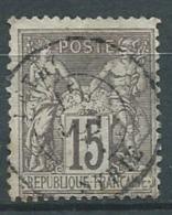France   - Yvert N° 77    Oblitéré   Syrie   - Ava1113 - 1877-1920: Période Semi Moderne