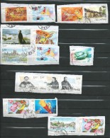 Lot - 16 Used Stamps.China - Vrac (max 999 Timbres)