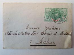 Dahomey Pour Le Sénégal  - Dakar  : Entier Postal 5 CENTIMES  1908 - Dahomey (1899-1944)