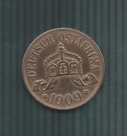 DEUTSCH OSTAFRIKA 5 HELLER 1909 J  2 SCANS - Afrique Orientale Allemande