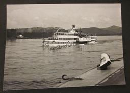 Altes Foto Schiff Seitenraddampfer Dampfer Cecilie Auf Dem Rhein - Schiffe