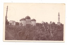 INDONESIA / INDONESIEN - MEDAN, Great Mosque, Photo-AK 1930, Postagent Batavia-Rotterdam - Indonesien