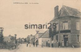 SOTTEVILLE-SUR-MER - LA GRANDE RUE - Autres Communes