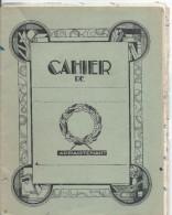 Cahier Scolaire D´Anglais  Totalement Utilisé/Guy Ponée / Collége Mézeray/+ 5 Copies De Devoirs Insérées1942-1943 CAH113 - Other