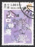 2001 - MACAO / MACAU - CENSIMENTO / CENSUS. USATO - 1999-... Regione Amministrativa Speciale Della Cina