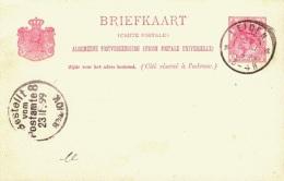 NL Card 1899 ... AH266 - Periode 1891-1948 (Wilhelmina)