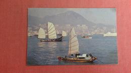 China (Hong Kong) Harbor View Mailed From Italy In Flight With TWA  -----  - Ref 2351 - China (Hong Kong)