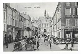 NIORT  (cpa 79)  Rue Thiers - Animation, Commerces -    - L 1 - Niort