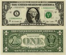 U.S.A.       1 Dollar       P-New       2013       UNC  [letter L: San Francisco] - Federal Reserve (1928-...)