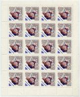 SOVIET UNION 1966 Bicentenary Of Porcelain Factory 10 K. Sheet 20 MNH / **.  Michel 3174 - 1923-1991 USSR