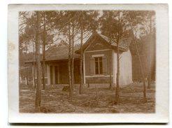 Photographie Privée Villa Arcahonnaise Pitchounette Lieu à Identifier Aecachon Cap Ferret Lacanau? - Guerre, Militaire