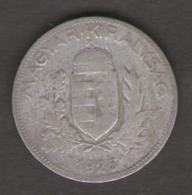 UNGHERIA 1 PENGO 1926 AG SILVER - Hongrie