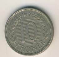Dänemark Von 1979  10 Kronen  (48075) - Dänemark
